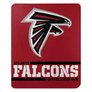 Atlanta Falcons Blanket 50x60 Fleece Split Wide Design