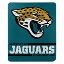 Jacksonville Jaguars Blanket 50x60 Fleece Split Wide Design