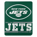 New York Jets Blanket 50x60 Fleece Split Wide Design