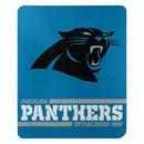 Carolina Panthers Blanket 50x60 Fleece Split Wide Design