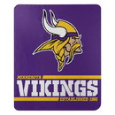 Minnesota Vikings Blanket 50x60 Fleece Split Wide Design