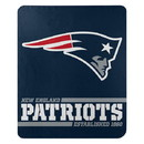 New England Patriots Blanket 50x60 Fleece Split Wide Design