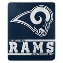 Los Angeles Rams Blanket 50x60 Fleece Split Wide Design