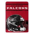 Atlanta Falcons Blanket 46x60 Micro Raschel Run Design Rolled