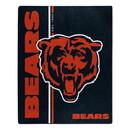 Chicago Bears Blanket 50x60 Raschel Restructure Design