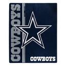 Dallas Cowboys Blanket 50x60 Raschel Restructure Design