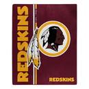 Washington Redskins Blanket 50x60 Raschel Restructure Design