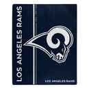 Los Angeles Rams Blanket 50x60 Raschel Restructure Design