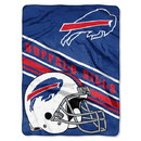 Buffalo Bills Blanket 60x80 Raschel Slant Design