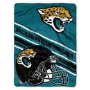 Jacksonville Jaguars Blanket 60x80 Raschel Slant Design