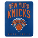 New York Knicks Blanket 50x60 Fleece Lay Up Design