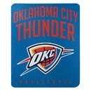 Oklahoma City Thunder Blanket 50x60 Fleece Lay Up Design