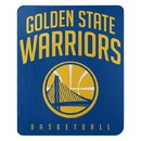 Golden State Warriors Blanket 50x60 Fleece Layup Design