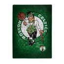 Boston Celtics Blanket 60x80 Raschel Street Design