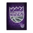 Sacramento Kings Blanket 60x80 Raschel Street Design Special Order