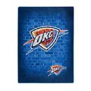 Oklahoma City Thunder Blanket 60x80 Raschel Street Design Special Order