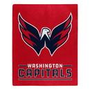 Washington Capitals Blanket 50x60 Raschel Interference Design