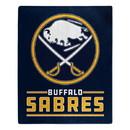 Buffalo Sabres Blanket 50x60 Raschel Interference Design
