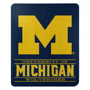 Michigan Wolverines Blanket 50x60 Fleece Control Design