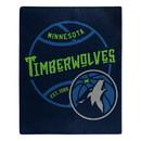 Minnesota Timberwolves Blanket 50x60 Raschel Blacktop Design