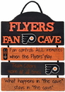 Philadelphia Flyers Sign Wood Mancave Special Order