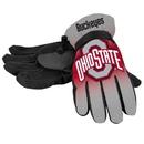 Ohio State Buckeyes Gloves Insulated Gradient Big Logo Size Small/Medium