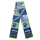 Seattle Seahawks Scarf Printed Bar Design