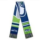 Seattle Seahawks Scarf Colorblock Big Logo Design