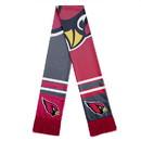 Arizona Cardinals Scarf Colorblock Big Logo Design