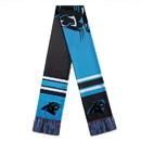 Carolina Panthers Scarf Colorblock Big Logo Design