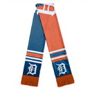 Detroit Tigers Scarf Colorblock Big Logo Design