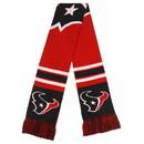 Houston Texans Scarf Colorblock Big Logo Design