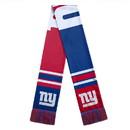 New York Giants Scarf Colorblock Big Logo Design