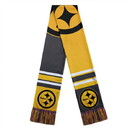 Pittsburgh Steelers Scarf Colorblock Big Logo Design