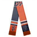 San Francisco Giants Scarf Colorblock Big Logo Design