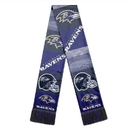 Baltimore Ravens Scarf Printed Bar Design