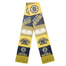 Boston Bruins Scarf Printed Bar Design