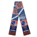 Chicago Bears Scarf Printed Bar Design