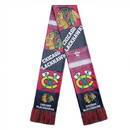 Chicago Blackhawks Scarf Printed Bar Design