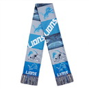 Detroit Lions Scarf Printed Bar Design