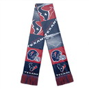 Houston Texans Scarf Printed Bar Design