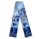Kansas City Royals Scarf Printed Bar Design