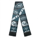 New York Jets Scarf Printed Bar Design