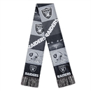 Oakland Raiders Scarf Printed Bar Design