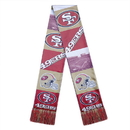 San Francisco 49ers Scarf Printed Bar Design
