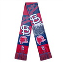St. Louis Cardinals Scarf Printed Bar Design