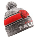 Forever Collectibles Beanie Gray Stripe Light Up