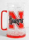 Nebraska Cornhuskers Mug Crystal Freezer Style Monster Size - Special Order