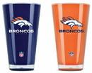 Denver Broncos Tumblers - Set of 2 (20 oz)