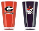 Georgia Bulldogs Tumblers - Set of 2 (20 oz)